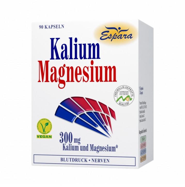 Kalium-Magnesium Kapseln Espara 90Stk