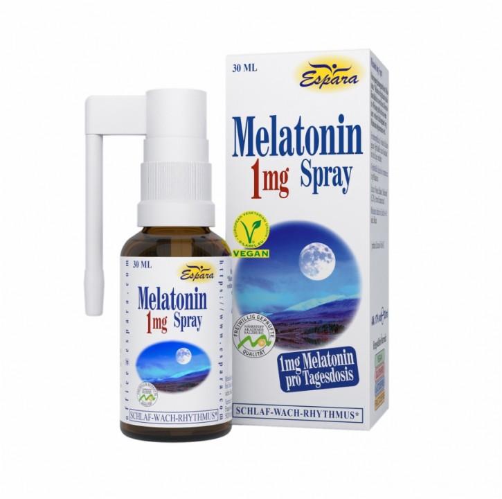 Melatonin 1mg Spray Espara 30ml