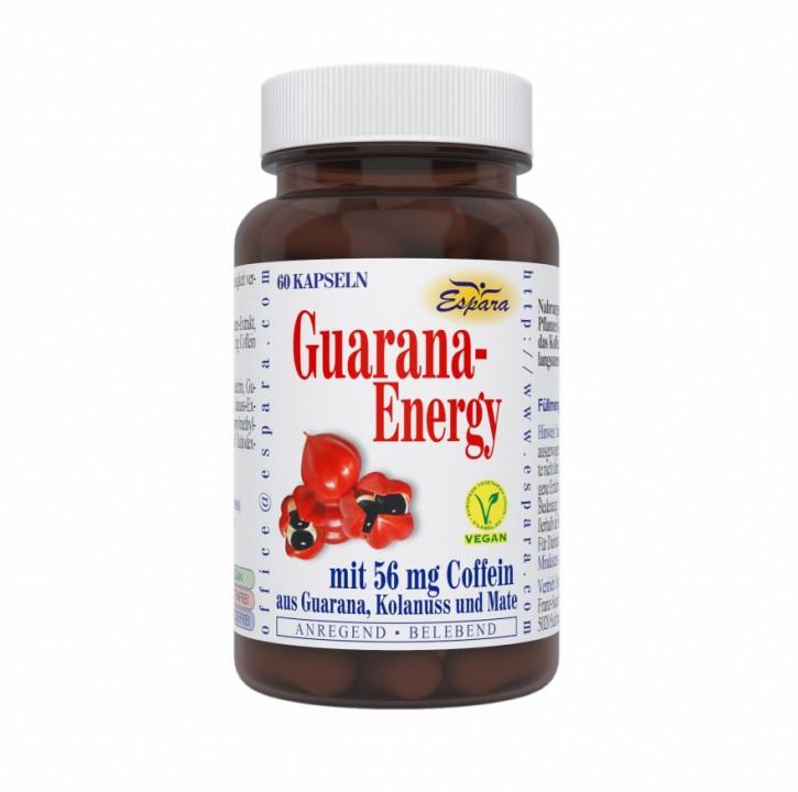 Guarana-Energy Kapseln, 60St Espara