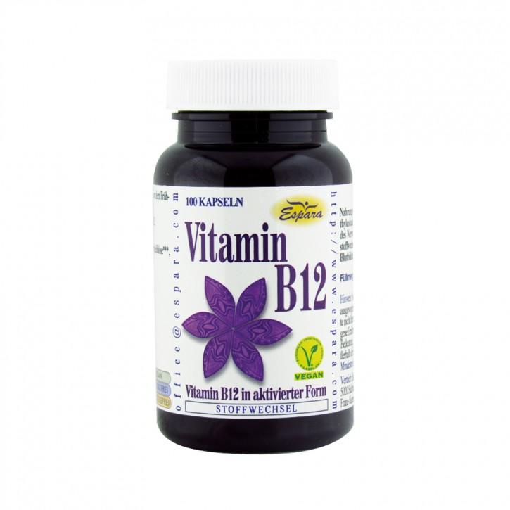 Vitamin B12 Kapseln 100 Stk. Espara