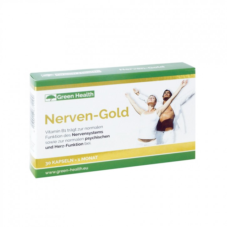 Green Health Nerven Gold Kapseln 30Stk Panaceo