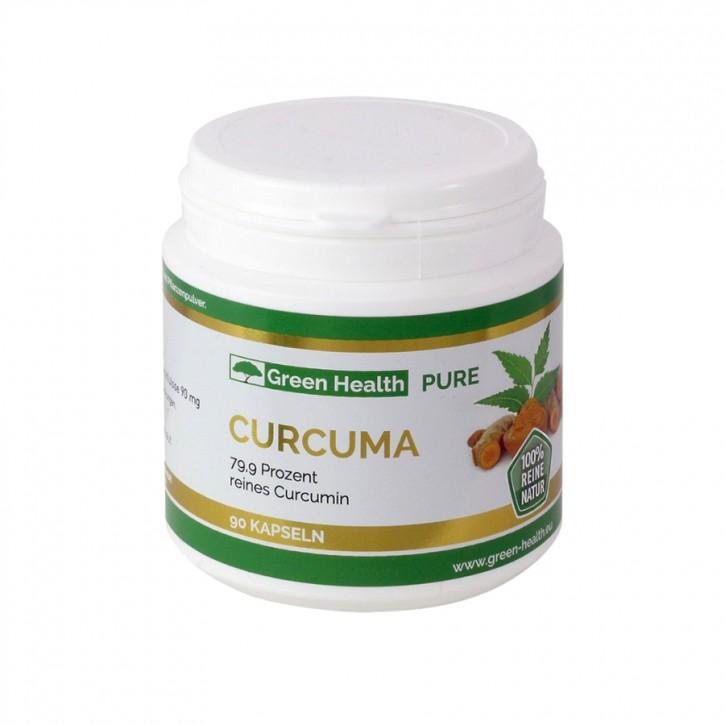 Green Health Curcuma Kapseln 90Stk