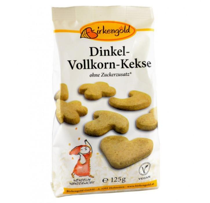Dinkel-Vollkorn-Kekse, 125g