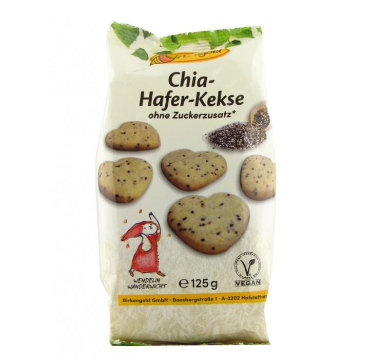 Chia-Hafer-Kekse, 125g