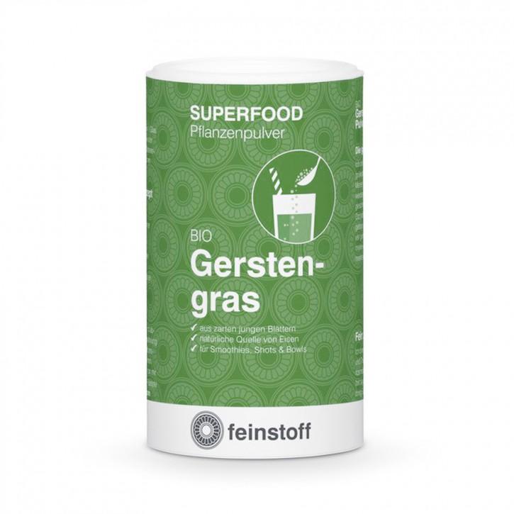 Gerstengras-Pulver Bio Feinstoff 125g