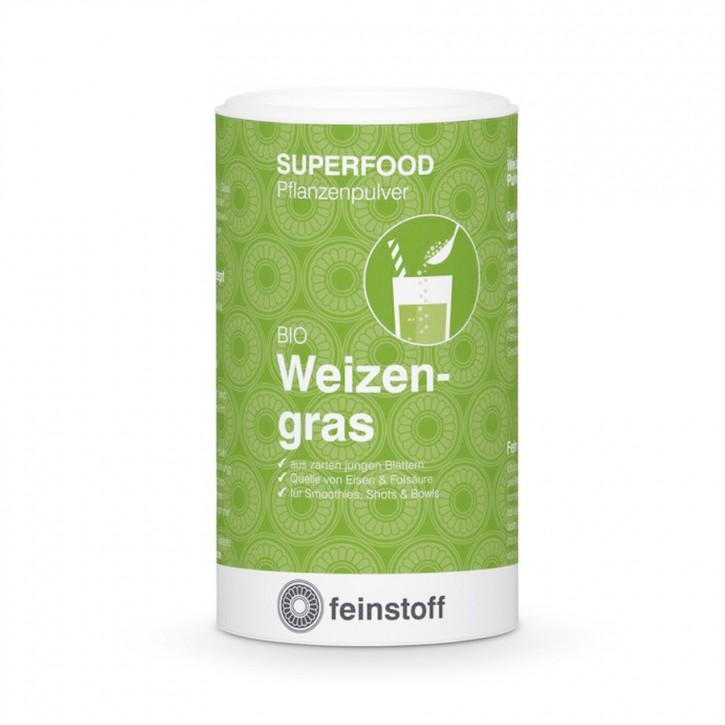 Feinstoff Weizengras-Pulver Bio 125g