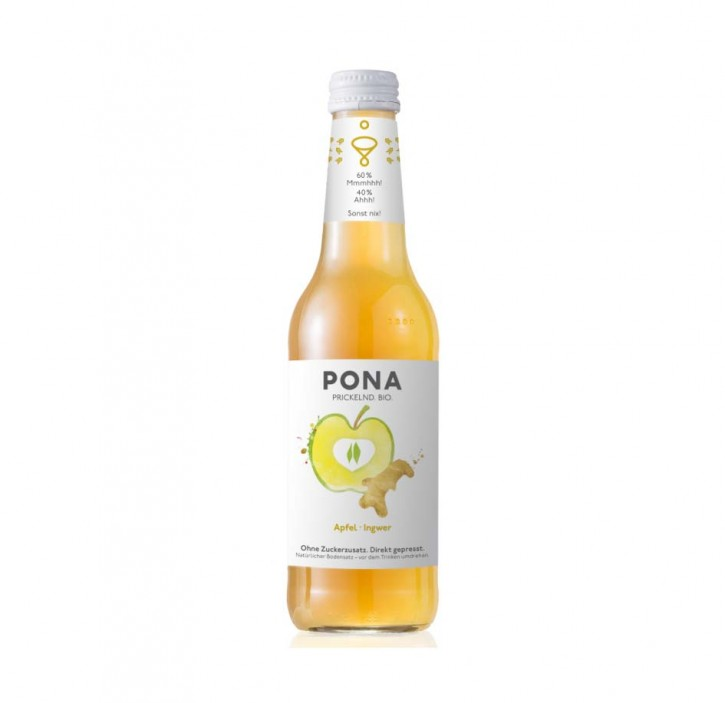 PONA Apfel Ingwer Bio 330ml