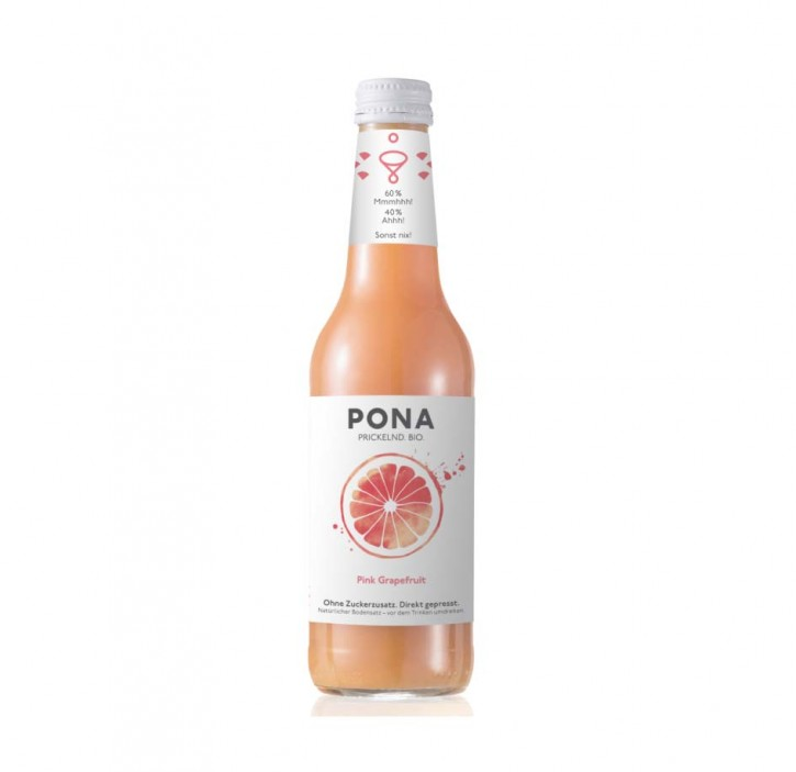 PONA Pink Grapefruit Bio 330ml