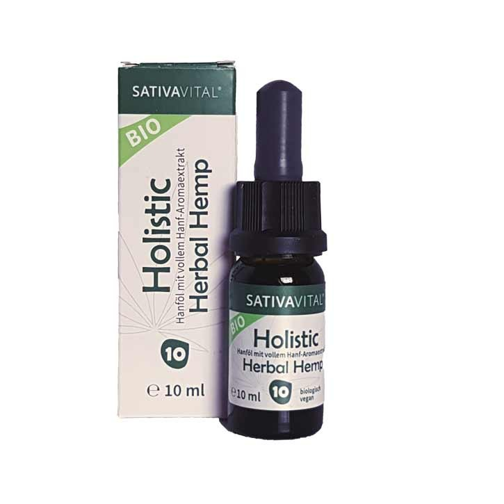 Bio Holistic Herbal Hemp Hanfölaroma 10%  10ml