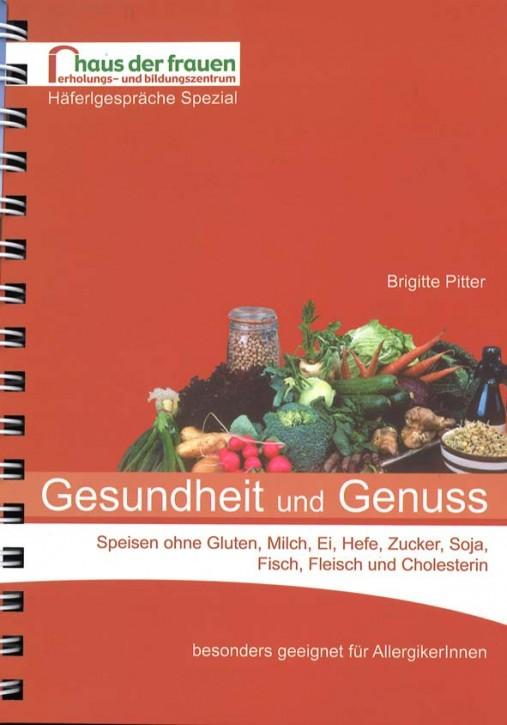 Buch Gesundheit und Genuss v. Brigitte Pitter