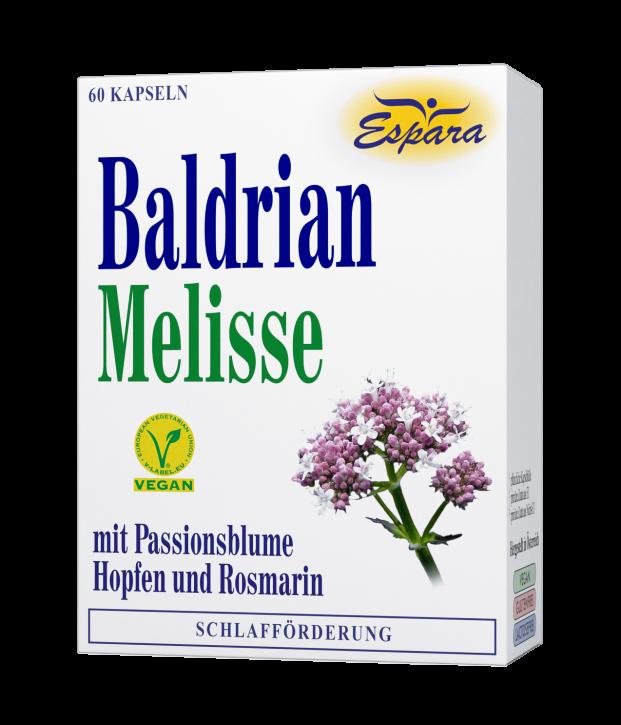 Baldrian-Melisse Kapseln Espara 60Stk