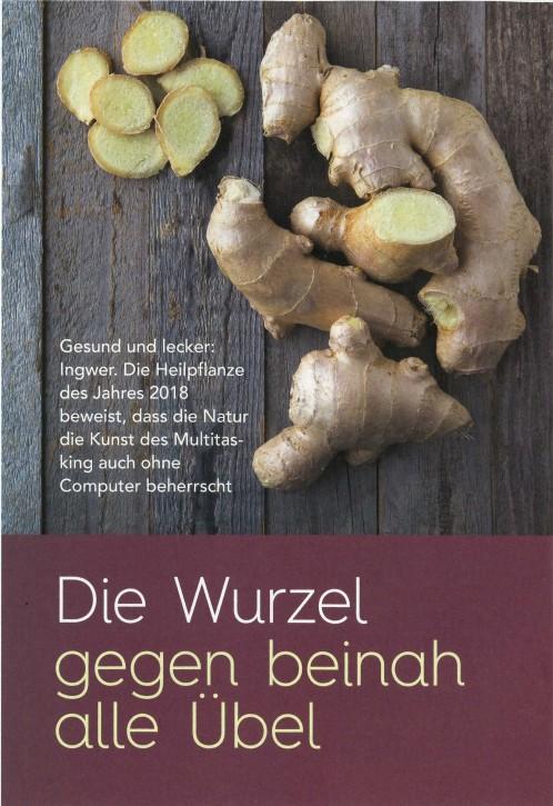 Ingwer - Reformhaus Kurier März 2018