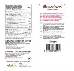 Mehrkorn-Schnitten Bio 150g Blumenbrot