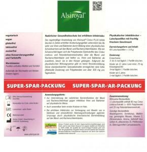 Cistus Infektblocker Sparpackung Alsiroyal 60Stk