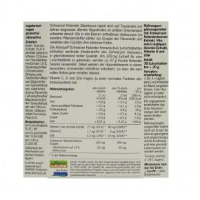 Schwarzer Holunder Immunschutz Lutschtabletten 30 Stk Alsiroyal