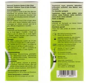 Alsiroyal Hyaluron Husten & Hals Sirup 150 ml