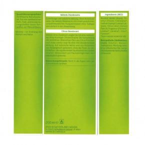 Citrus Deodorant Nachfüllflasche 200ml Weleda