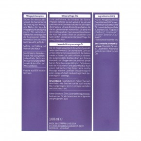 Lavendel Entspannungsöl 100ml Weleda