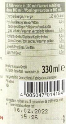 Heidelbeersaft Muttersaft bio Eden 330ml