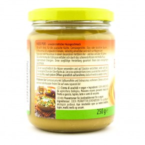 Bio Erdnussmus fein ohne Salz 250g Rapunzel