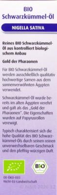 Schwarzkümmel-Öl Bio Hübner 100ml
