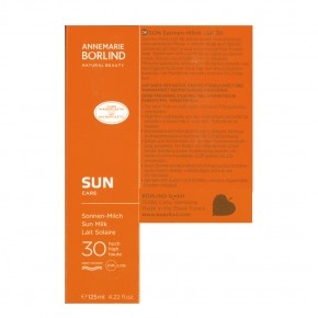 SUN Care Sonnenmilch LSF 30 Börlind 125ml