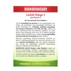 Lachsöl Omega 3, 80St
