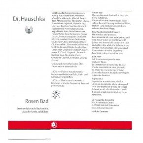 Rosen Bad 100ml Hauschka
