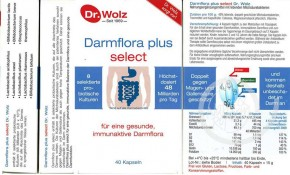 Darmflora plus select Dr.Wolz 40Stk