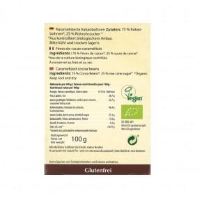 Kakaobohnen karamellisiert bio 100g Govinda