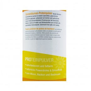 Sonnenblumenkernprotein-Pulver bio 400g Govinda