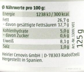 BAERLAUCH AUFSTRICH Grano Vita 125G