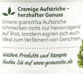 GRUENER PFEFFER AUFSTRICH Grano Vita 125g