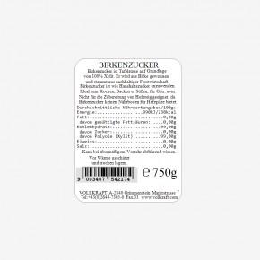 Birkenzucker 750g