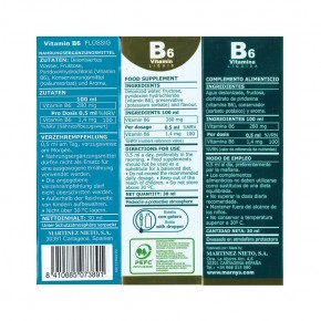 Marnys Vitamin B6 30ml Pipettenflasche
