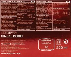 Marnys GINJAL 2000 20x10ml