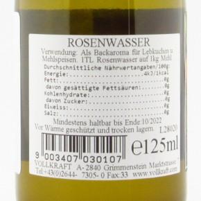 Rosenwasser 125ml Vollkraft