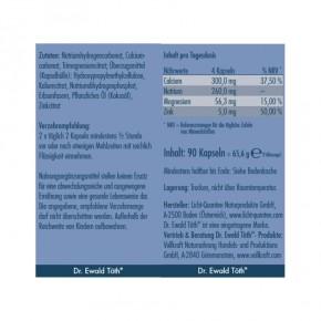 Basen Mineral Mischung Kapseln 90 Stk. Dr.Ewald Töth