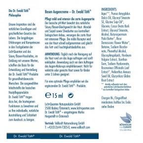 Basen Augencreme 15ml Dr.Ewald Töth