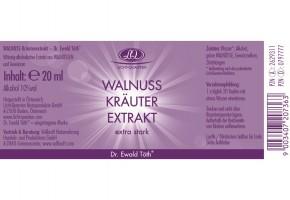Walnuss Kräuterextrakt extra stark 20ml Dr. Ewald Töth