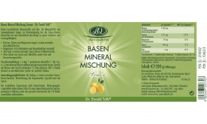 Basen Mineral Mischung Lemon 200g Dr.Ewald Töth