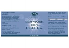 Stoffwechsel Eisen Energetikum 100ml Dr. Ewald Töth