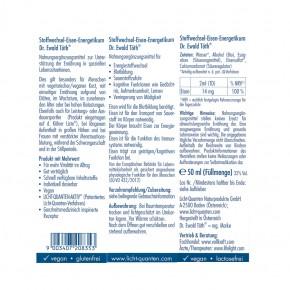 Stoffwechsel Eisen Energetikum 50ml Dr. Ewald Töth