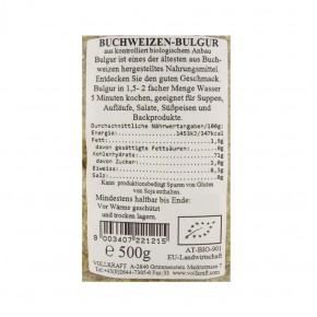 Buchweizenbulgur bio 500g Vollkraft