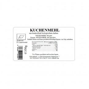 PET Kuchenmehl bio 350g Vollkraft