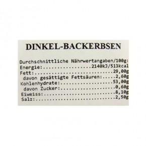 Bio Dinkelbackerbsen 125g