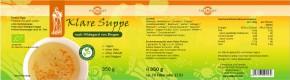 Bio Klare Suppe nach Hildegard Dose 350g Vollkraft