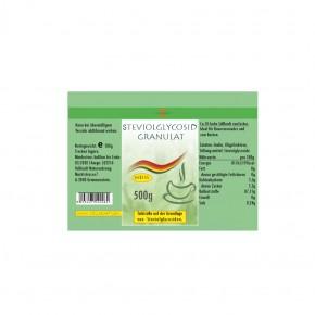 Stevioglycosid Granulat 500g Vollkraft