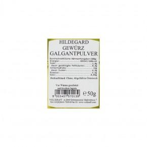Galgant Pulver 50g Vollkraft
