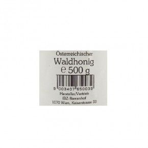 Waldhonig 500g IBZ